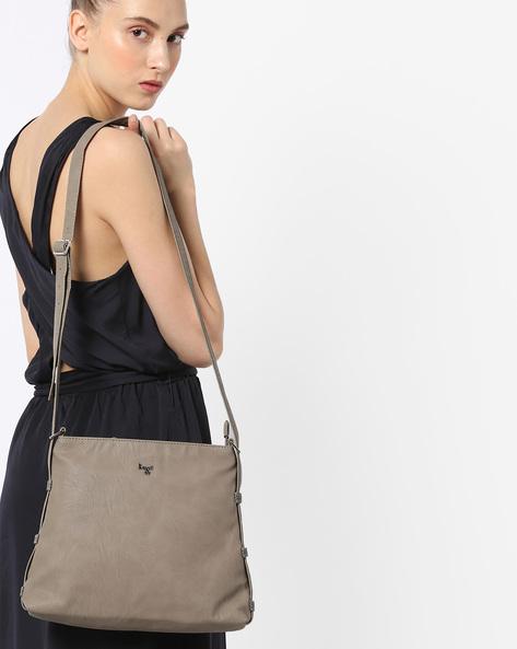 L Riley Y G Sling Bag By BAGGIT ( Khaki )
