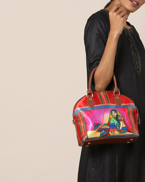 Digital Print Sling Hand Bag By All Things Sundar ( Multi )