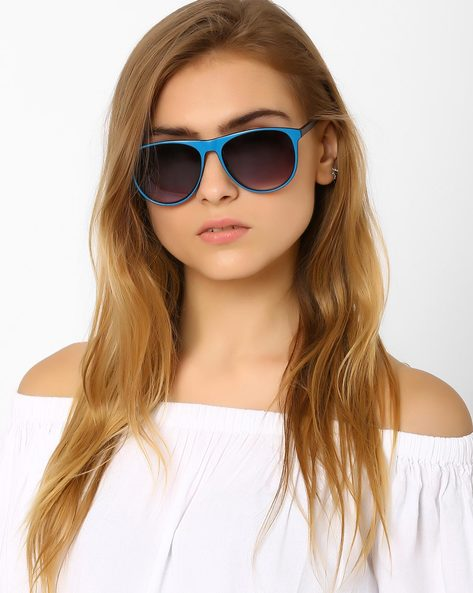 Wayfarer Sunglasses By Joe Black ( Blue )