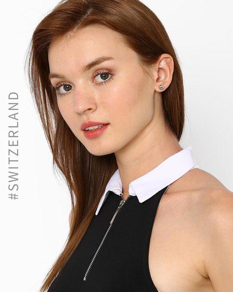 Set Of 12 Stud Earrings By TALLY WEiJL ( Multi )