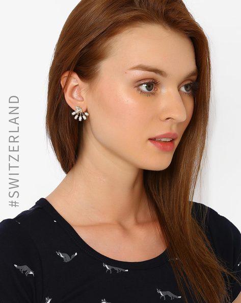 Flower-Shaped Earrings By TALLY WEiJL ( Gold )