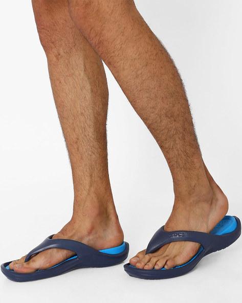 crocs crocband blue flip flops for men online in india at. Black Bedroom Furniture Sets. Home Design Ideas