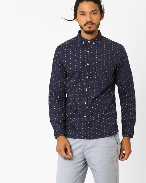 Printed Slim Fit Shirt By FLYING MACHINE ( Assorted )