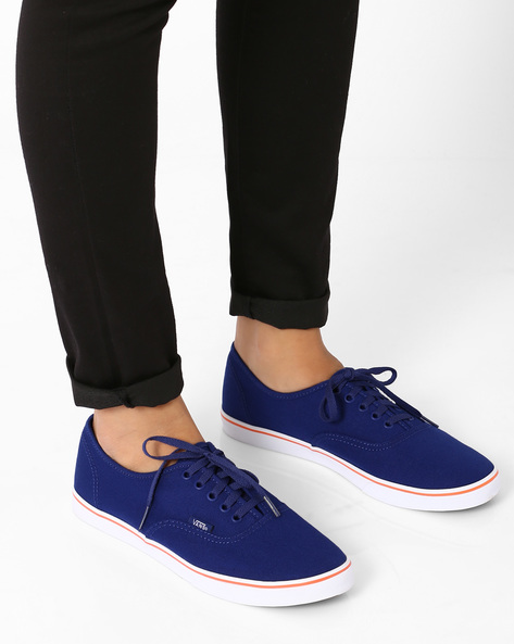 Authentic Lo Pro Lace-Up Casual Shoes By Vans ( Multi )