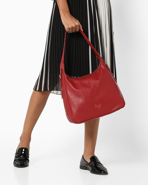 L Gale Y G Tarzen Hobo Bag By BAGGIT ( Red )