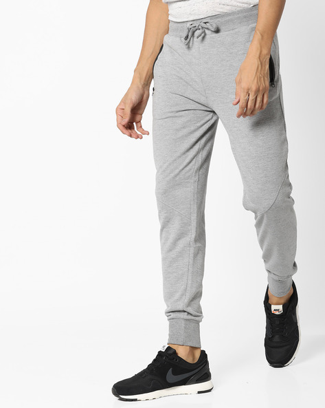 Jogger Pants With Elasticated Waist By Fort Collins ( Grey )