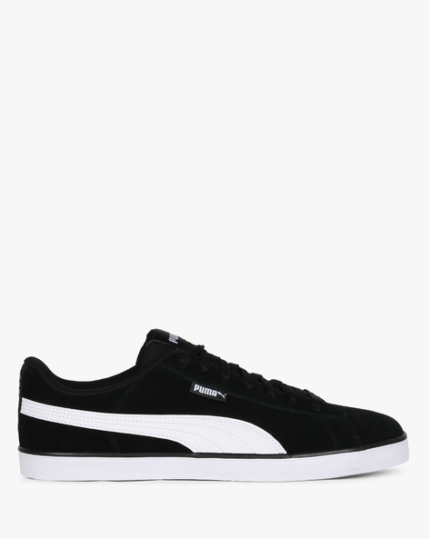 Lace-Up Casual Shoes By Puma ( Black ) - 460190773005