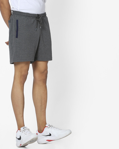 Elasticated Shorts With Drawstring Waist By FILA ( Grey )