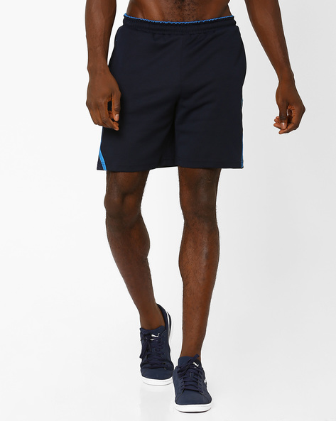 Shorts With Elasticated Waist By PROLINE ( Navy )