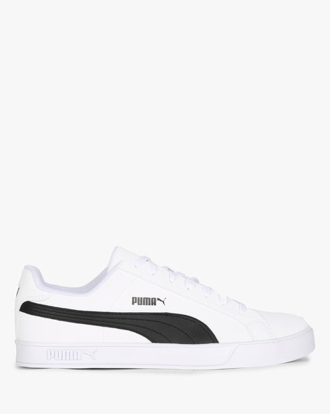 Puma Smash Vulc Casual Shoes By Puma ( White )