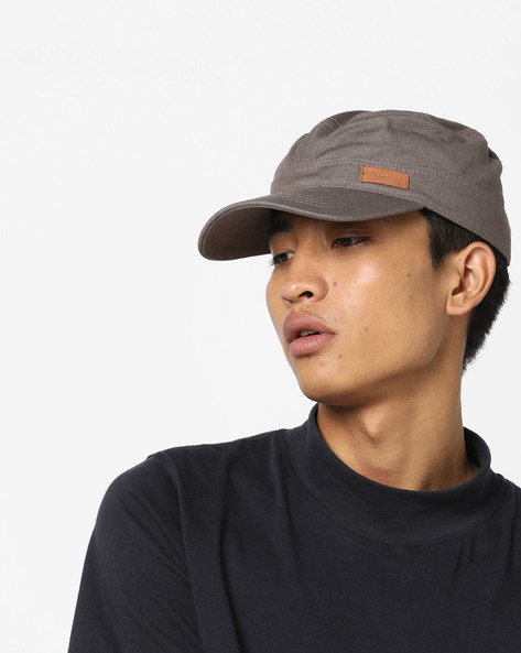Baseball Cap With Signature Branding By WRANGLER ( Grey )