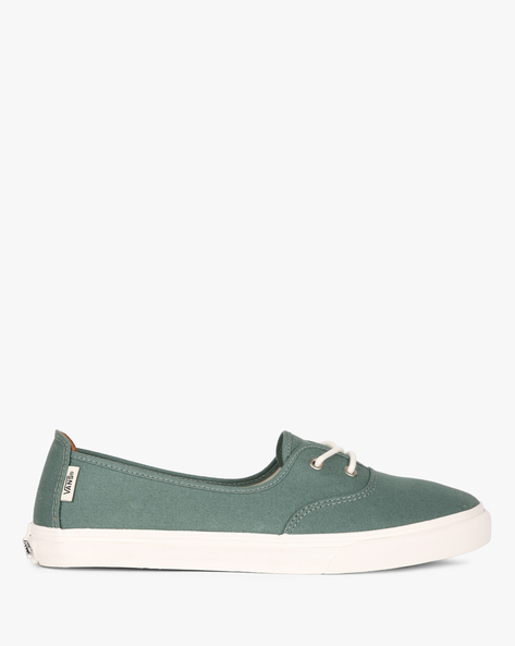 Solana SF Canvas Lace-Up Casual Shoes By Vans ( Grey )