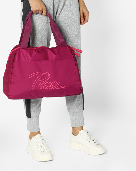 Core Grip Gym Bag By Puma ( Fuchsia )