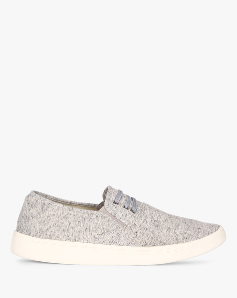 Slip-On Sneakers With Elasticated Gussets By Nuboy ( Grey )