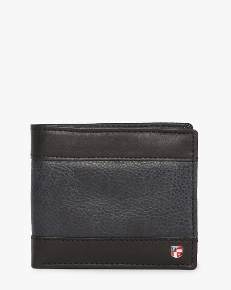 Panelled Bi-Fold Wallet By US POLO ( Black )