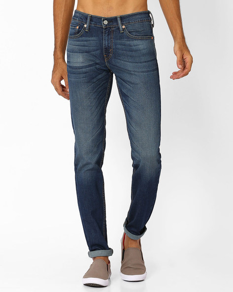 511 Low-Rise Slim Fit Jeans By LEVIS ( Blue ) - 460027932002