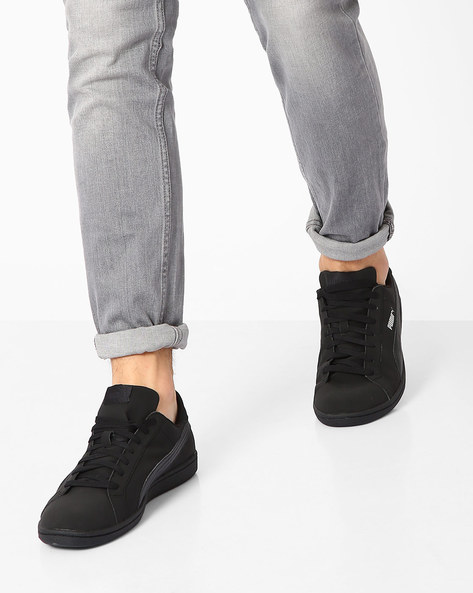 Smash Buck Casual Shoes By Puma ( Black )