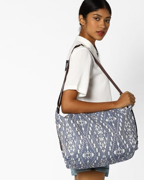Jacquard Hobo Bag By AJIO ( Multi )