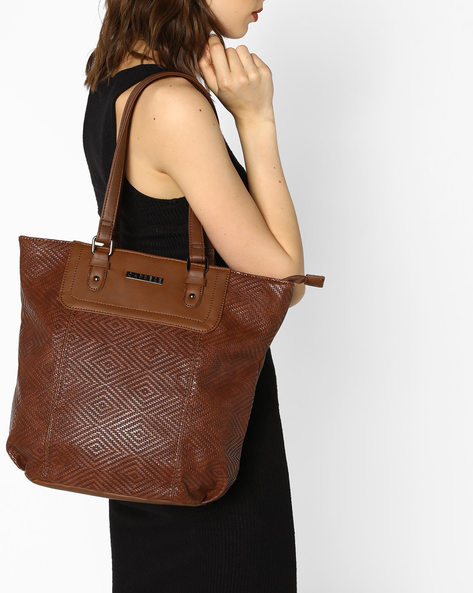 Lilia Tote Bag By CAPRESE ( Brown )