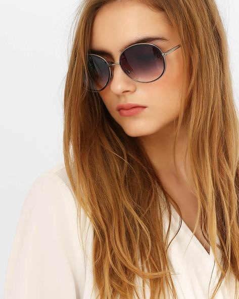 UV-Protected Graduated Sunglasses By Stol'N ( Purple )