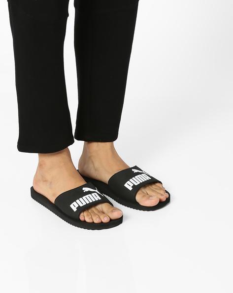Purecat EVA Slippers By Puma ( Black )