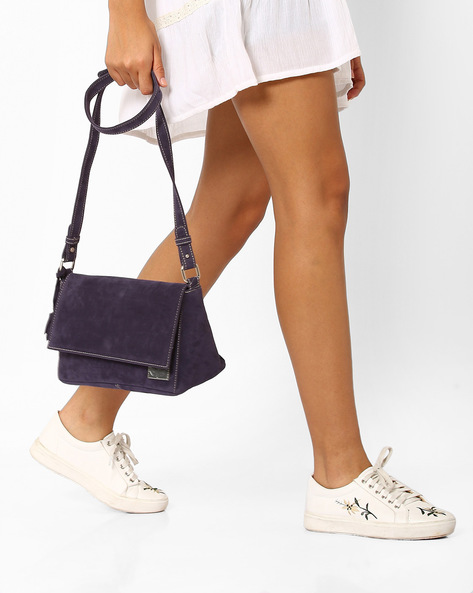 Sling Bag With Tassel By Gusto ( Grapefruit )
