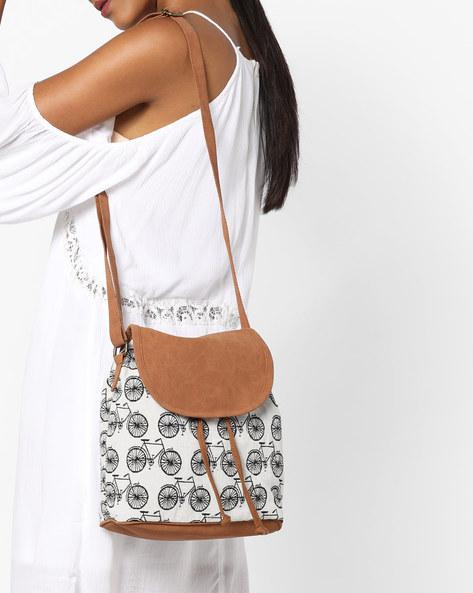 Jacquard Sling Bag By Kanvas Katha ( Multicolor ) - 460124227001