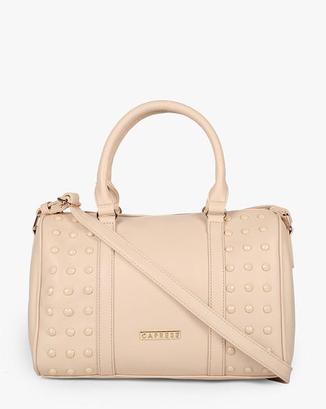 Embellished Textured Sling Bag By CAPRESE ( Skin )