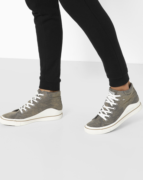 Lace-Up Casual Shoes By British Knights ( Lightbrown )