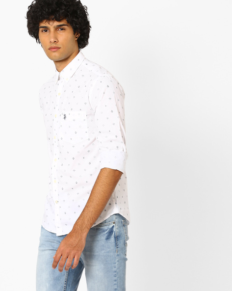 Regular Fit Printed Shirt By US POLO ( Assorted ) - 440759751001