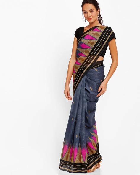 Printed Art Silk Saree By Diva Fashion ( Grey )