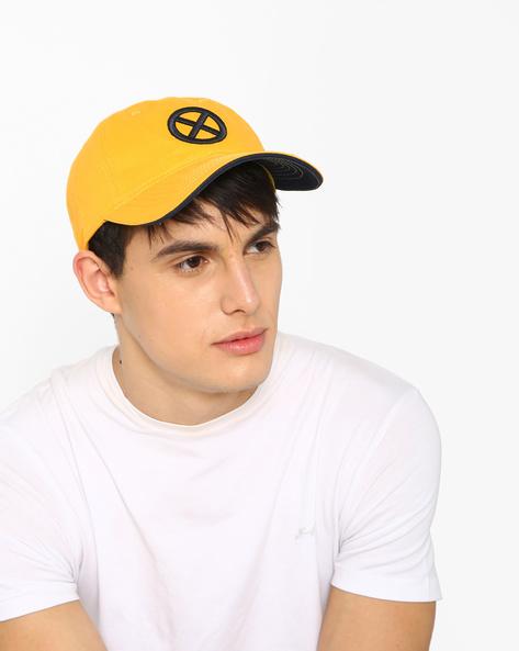 Baseball Cap With X-Men Logo By MARVEL ( Yellow )