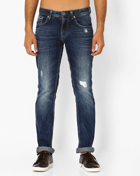 Lightly Washed Slim Fit Jeans By Killer ( Assorted ) - 440722858004