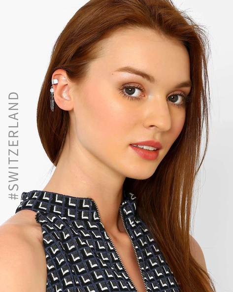 Clip-On Ear Cuff By TALLY WEiJL ( Silver )