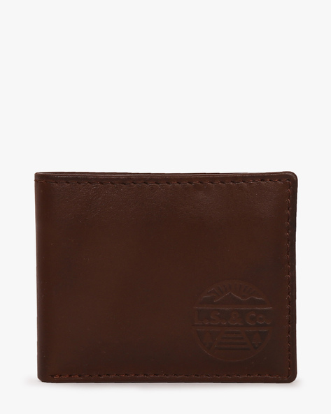 Faux Leather Bi-Fold Wallet By LEVIS ( Brown ) - 460028268001