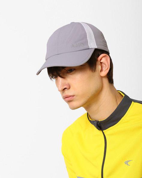 Dry Fit Sports Cap By AJIO ( Grey )