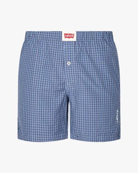 Checked Boxer Shorts By LEVIS ( Assorted )