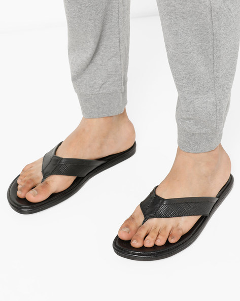 a64314e02087d Being Human Textured Footbed Flip Flops Best Deals With Price ...