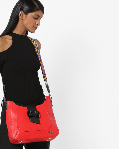 Sling Bag With Guitar Strap By E2O ( Red )