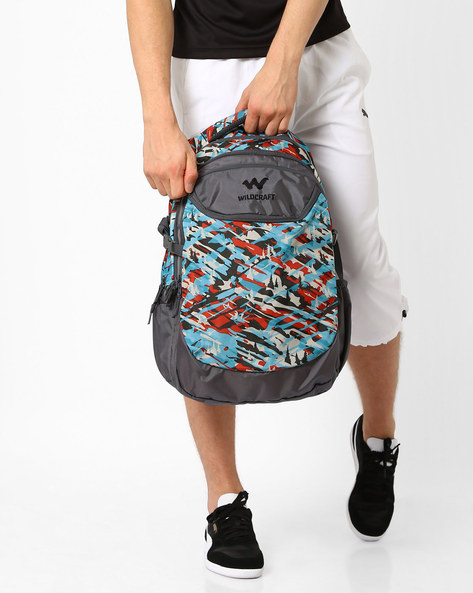 Camo 5 Backpack By Wildcraft ( Turquoise )