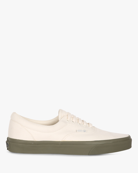 Lace-Up Casual Shoes By Vans ( Green )