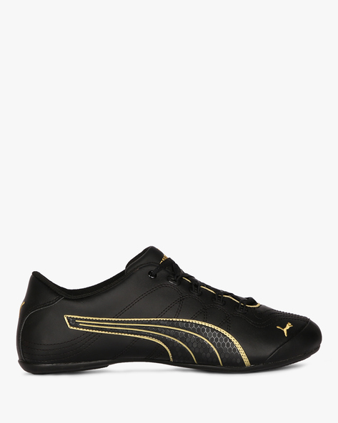Soleil Comfort Casual Lace-Up Shoes By Puma ( Black )