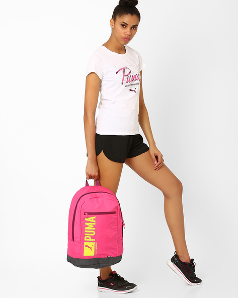 Pioneer Backpack By Puma ( Fuchsia )