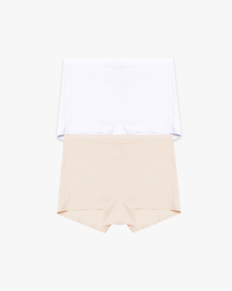 Pack Of 2 Tummy Shapers By Marks & Spencer ( Brown )