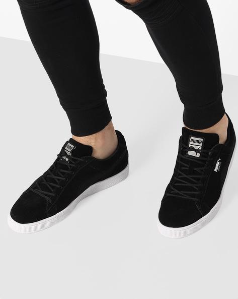 Suede Classic Mesh FS Shoes By Puma ( Black )