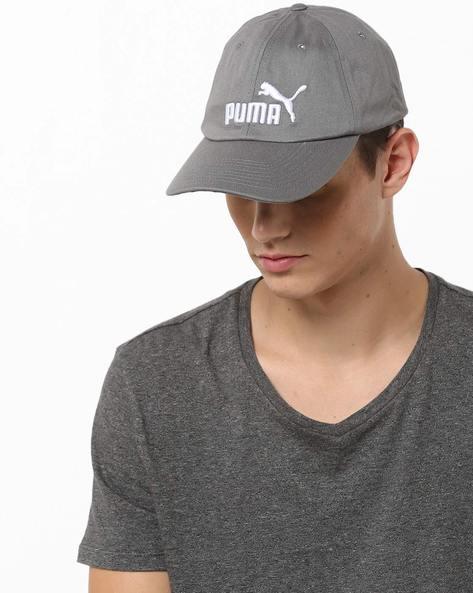 Baseball Cap With Branding By Puma ( Grey )
