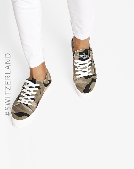 Lace-Up Casual Shoes By TALLY WEiJL ( Multi )