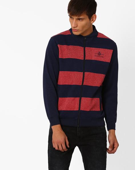 Regular Fit Fleece Sweatshirt By MONTE CARLO ( Blue )