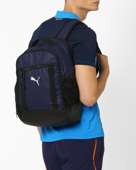 Training Backpack With Padded Shoulder Straps By Puma ( Silver )