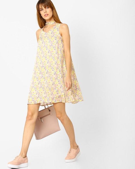 Floral Print A-line Dress By And ( Multi )